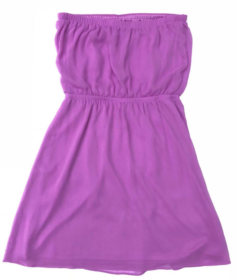97659e51cd EXPRESS Purple Tube Dress