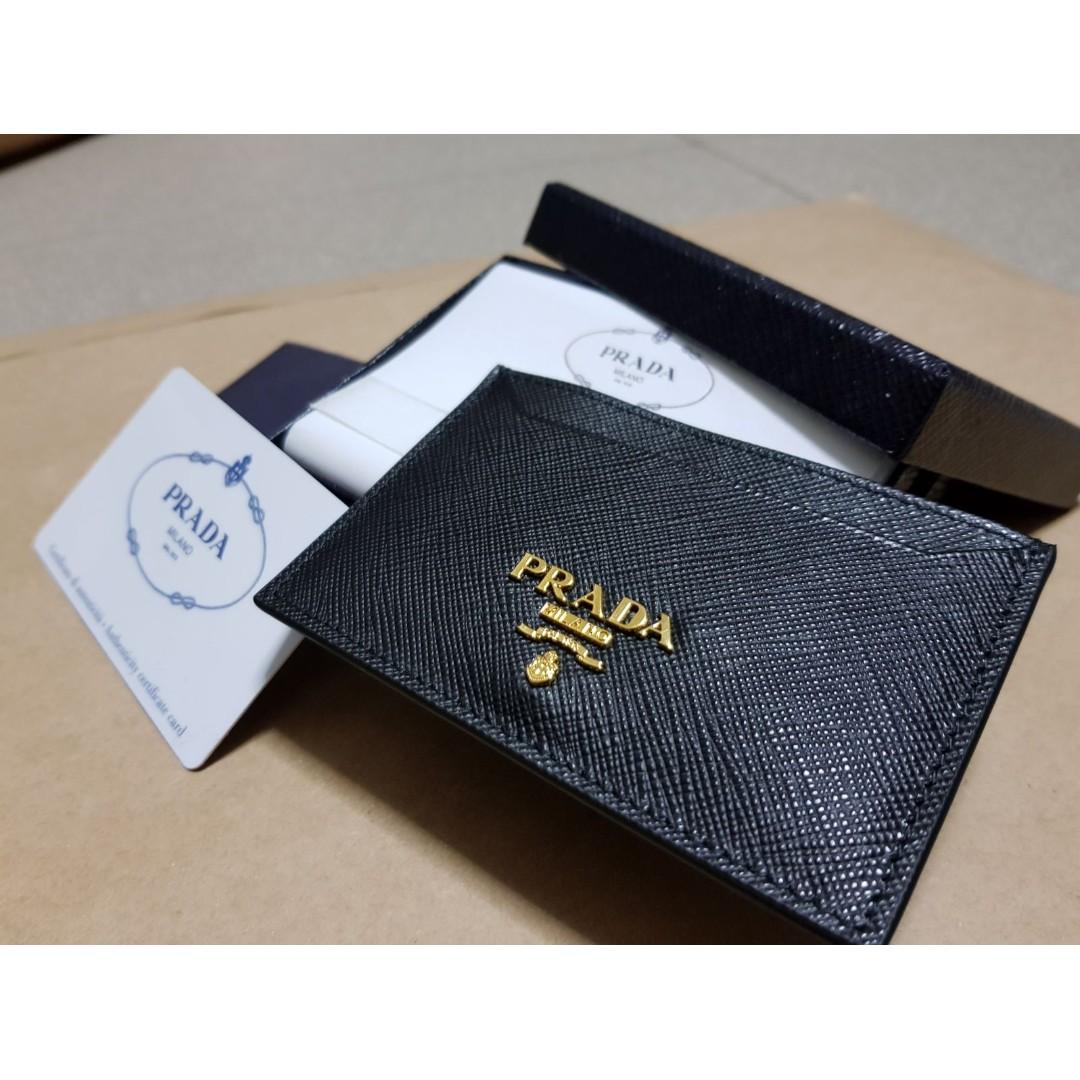 5a82e9f12c0c FAST DEAL // BRAND NEW Prada Soffiano Wallet / Card Holder, Women's ...