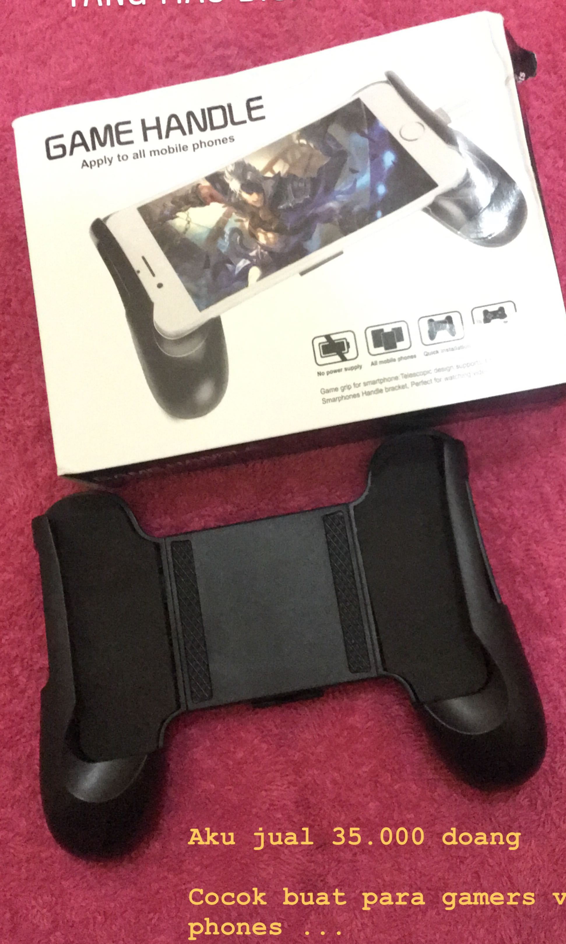 Game Handle Gamepad Stick Mobile Video Gaming Steam Wallet Idr 450000 Accessories On Carousell