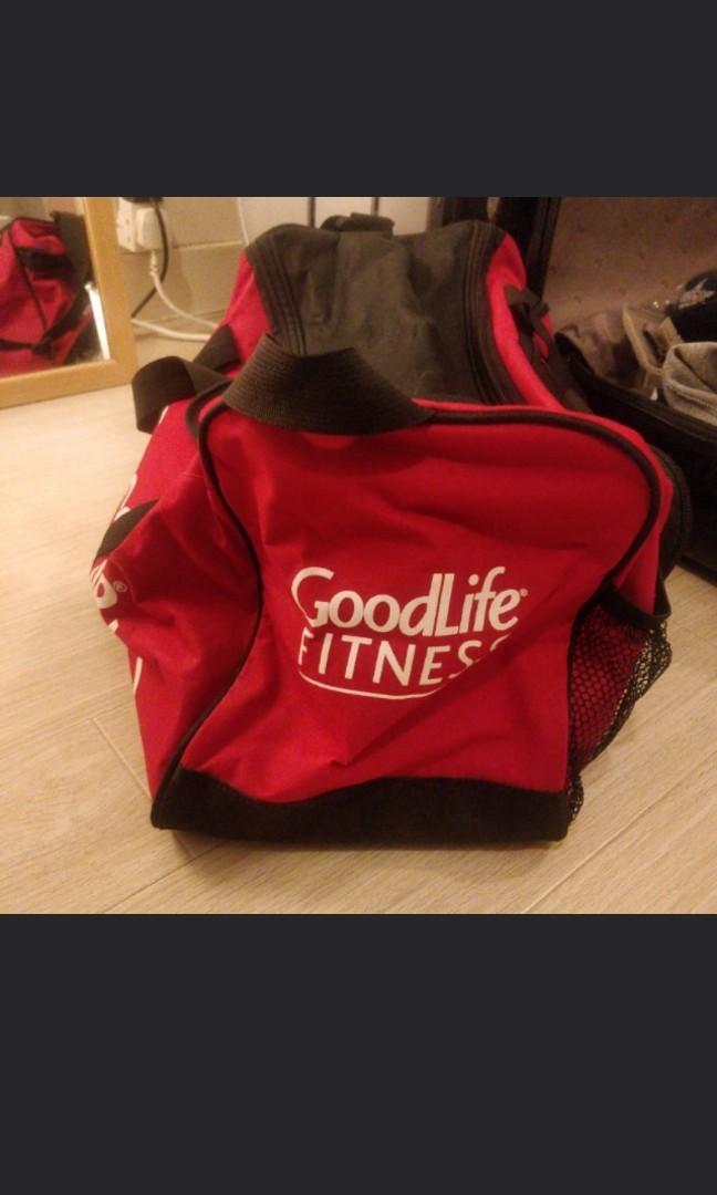Goodlife Gym Bag Dimensions Fitness