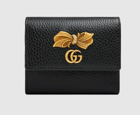 241f0293041001 🎀Gucci Leather wallet with bow, Luxury, Bags & Wallets, Wallets on ...