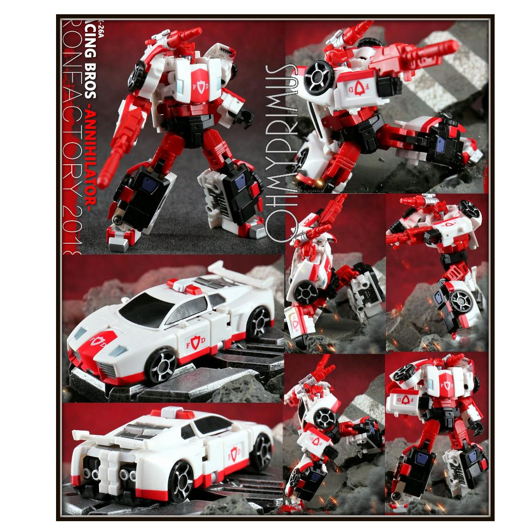 transformers Iron Factory IF EX-26a Racing Bros Annihilator New