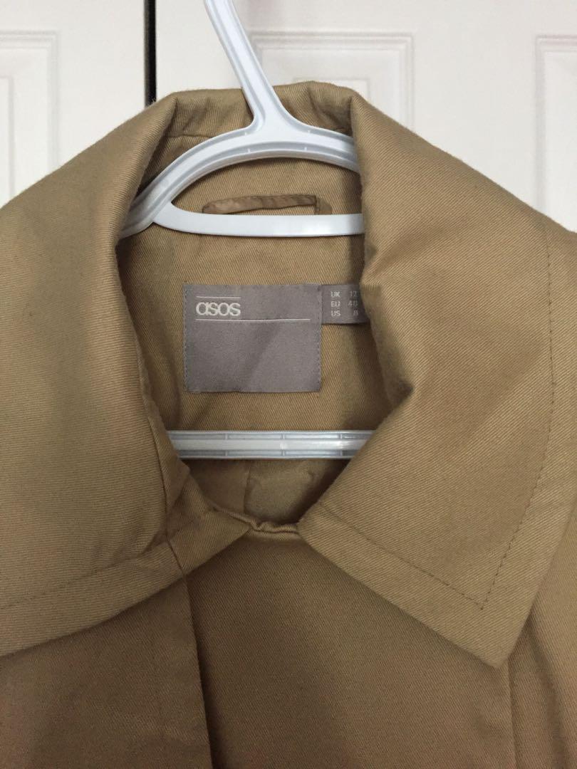 maternity coat in medium size