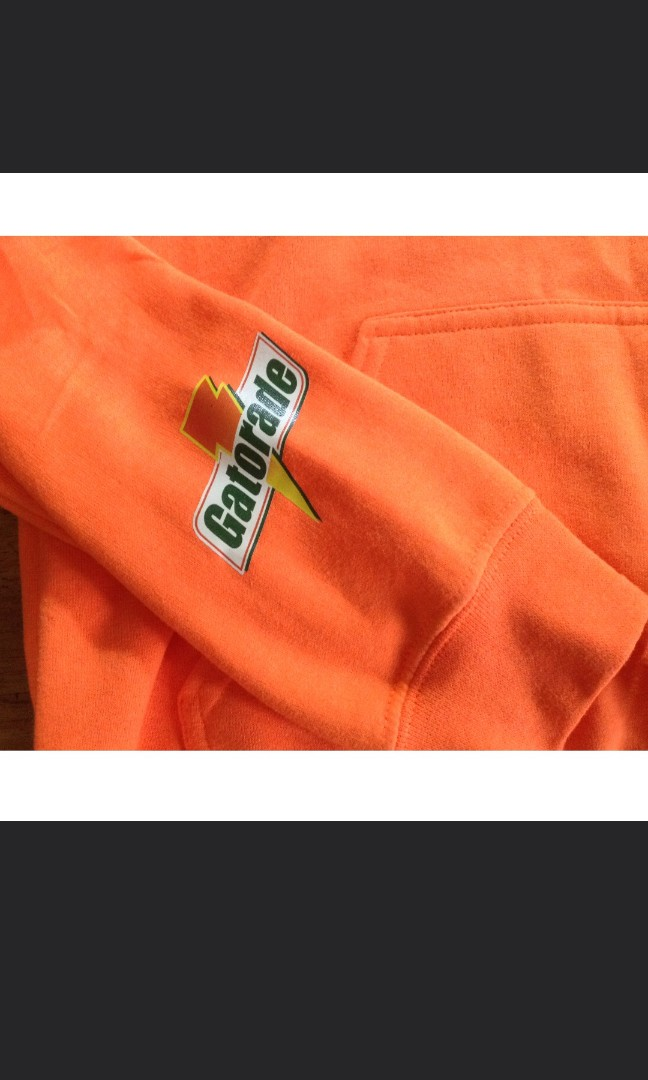 427401856d5 MIKE x GATORADE Orange Hoodie Jacket (not authentic), Men's Fashion,  Clothes, Outerwear on Carousell