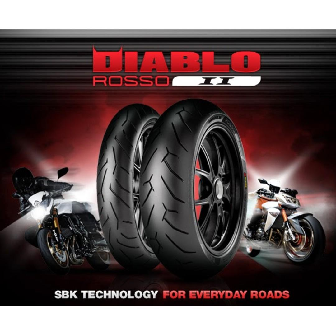 Motorcycle Tyre Promotion Motorbikes