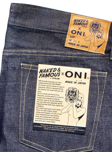 2bdb2153 Naked & Famous X Oni Denim, Men's Fashion, Clothes, Bottoms on Carousell