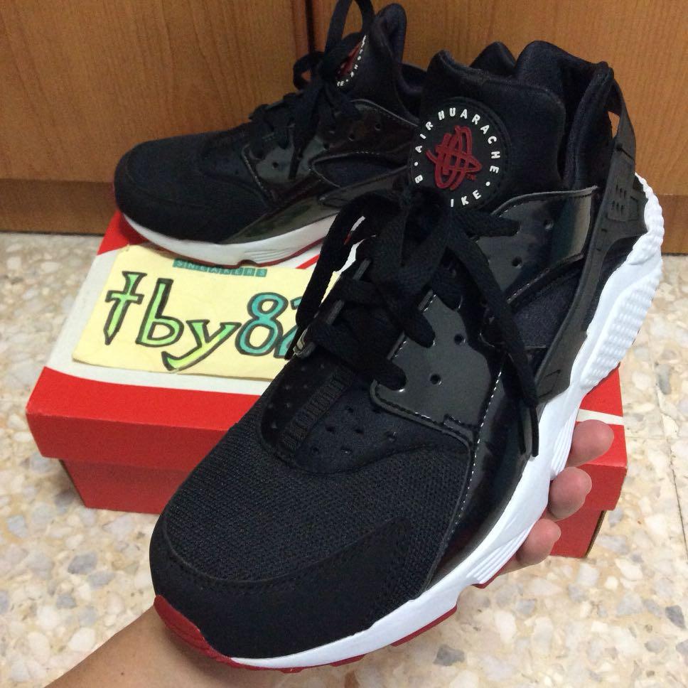 official photos 1cad0 7599e US10.5 Nike Men s Air Huarache BRED, Men s Fashion, Footwear ...