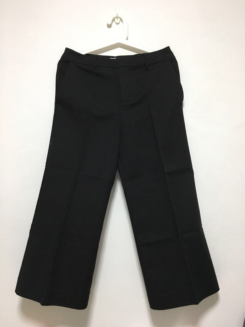 a97ad079b1dd OLD NAVY High Rise Wide Leg Crop Pants