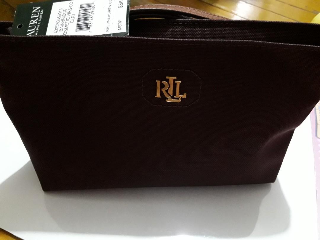 86778fa0850f ORIGINAL Ralph Lauren cosmetic pouch