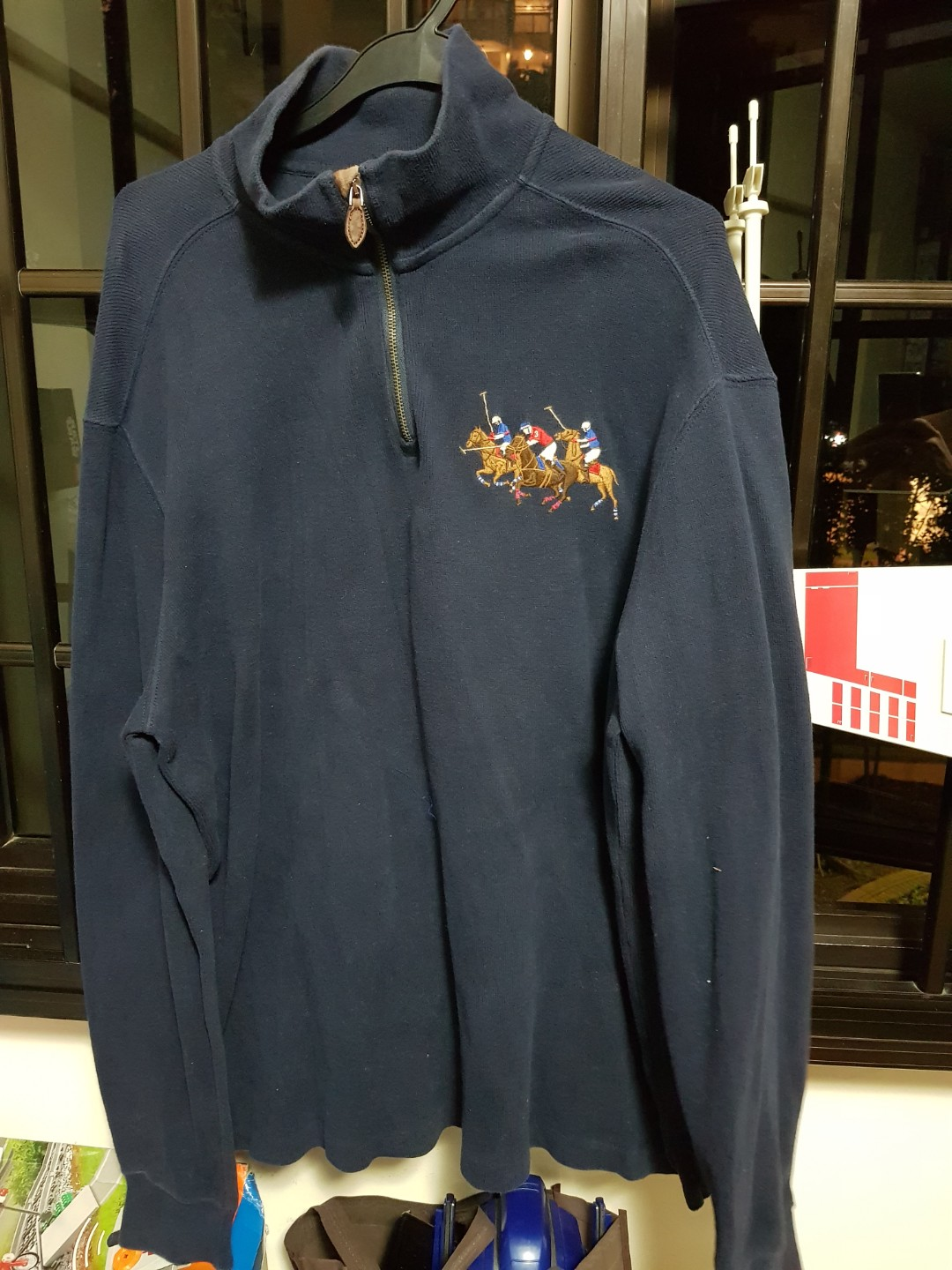 6992014d Polo Ralph Lauren Sweater, Men's Fashion, Clothes, Tops on Carousell