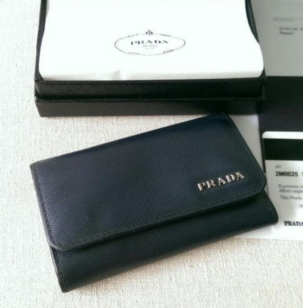 2ffa1e9deaa551 Prada Key Pouch Case Bag Prada Wallet, Men's Fashion, Bags & Wallets ...