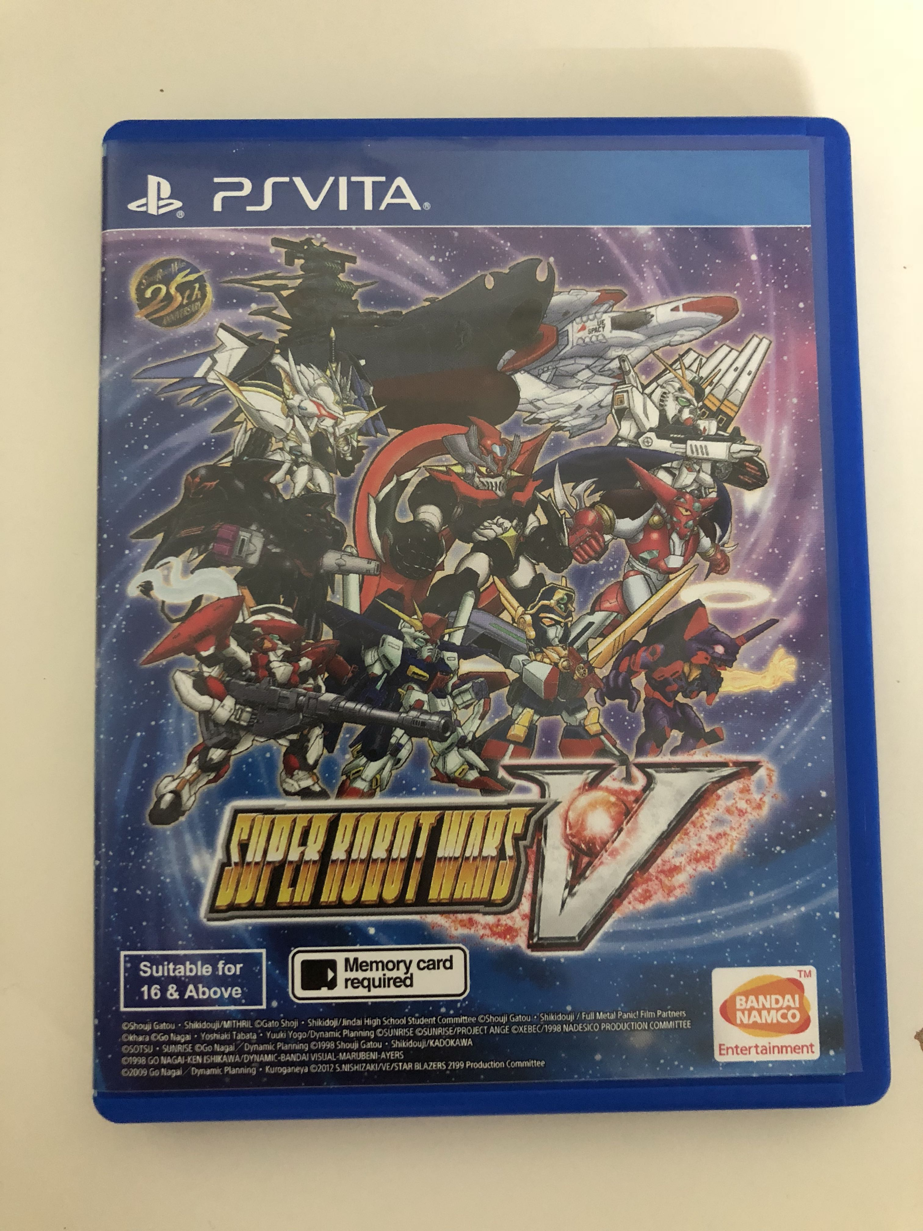 Super Robot Wars V (PS Vita) - Japanese Voice, English
