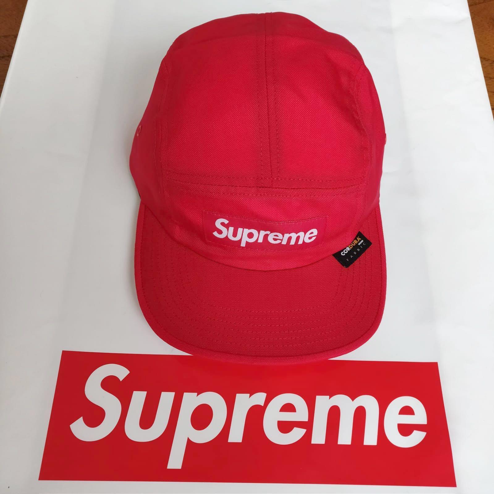 2e9808df6fb0e Supreme Cordura Camp Cap - Red