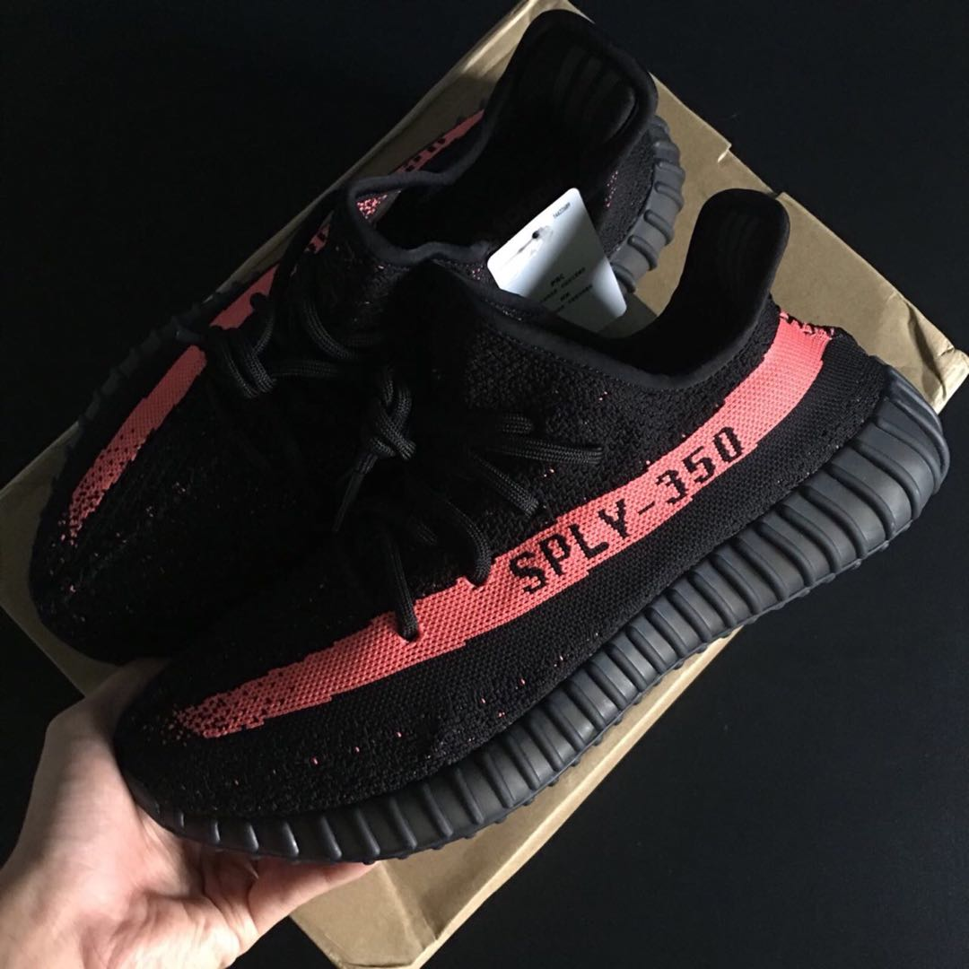 06748af69 Unauthorised Authentic Yeezy Boost 350 V2 Red Stripe