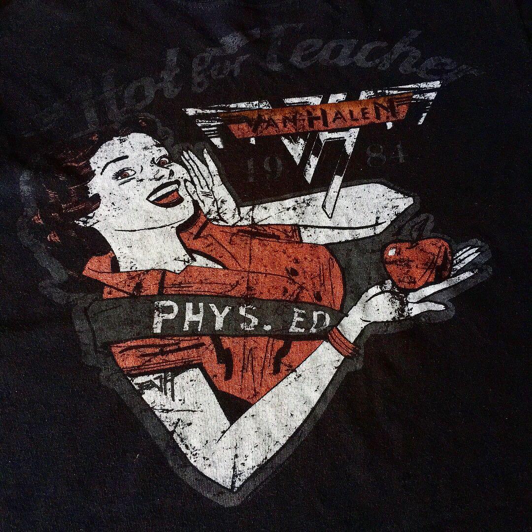 Van Halen Band T Shirt Mens Fashion Clothes Tops On Carousell Kaos Artic Monkeys Gildan Artwor Black