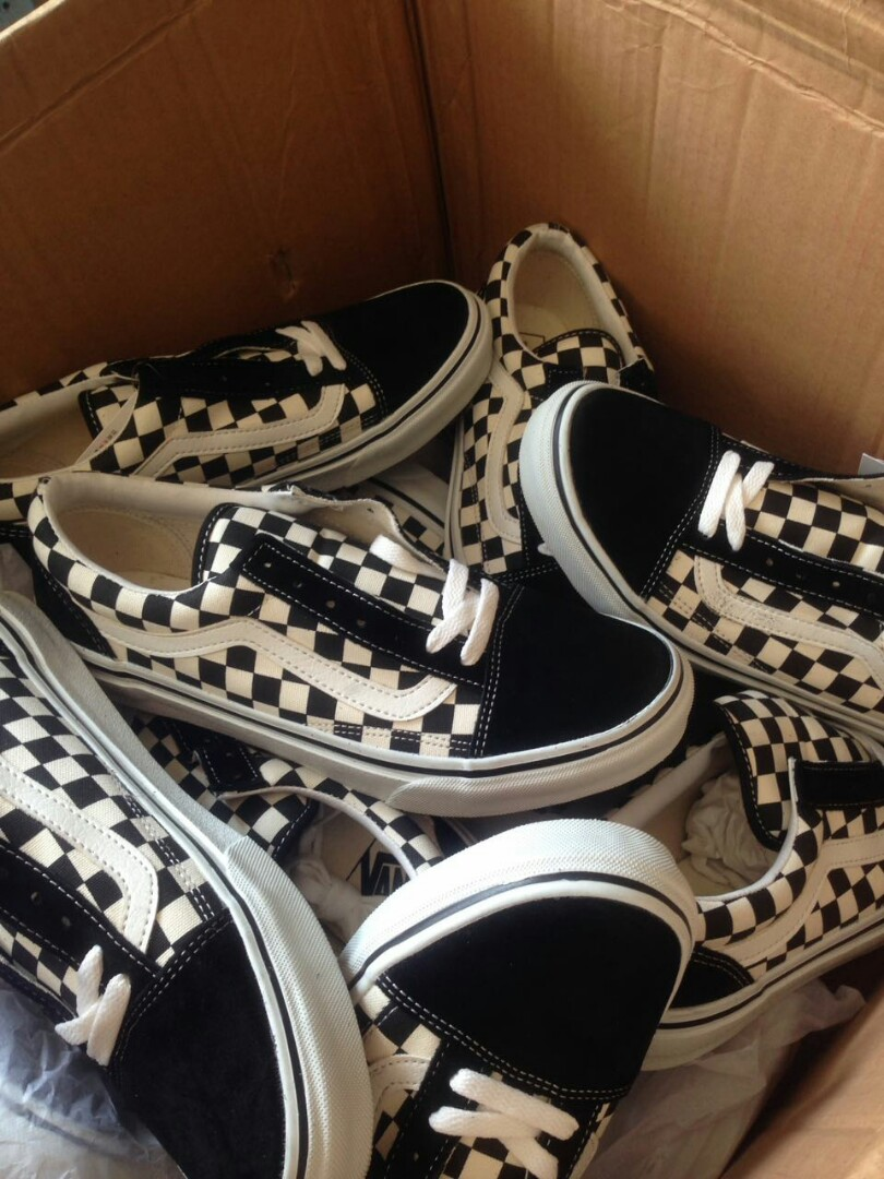 f3bc0ac296 Vans Old Skool DX  DX V36-38CL + CHECKERBOARD BLKWHT