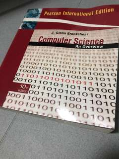 GOOD AS NEW Computer Science An Overview 10ed