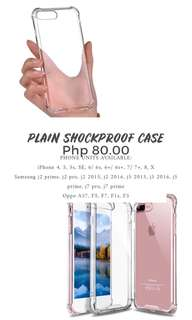 Plain Shockproof Case