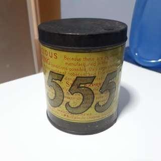 Vintage State Express 555 Cigarette Tin Box