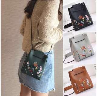 [SALE] Flower Sling Bag
