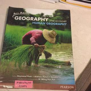 upper secondary geography
