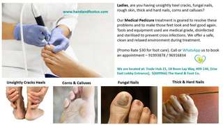 Medical Hand And Foot Care For Ladies