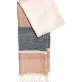 H&M Block-patterned scarf