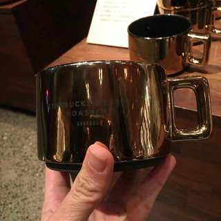[Pre-Order] Starbucks Roastery Shanghai Mug (Gold) #worldcup100