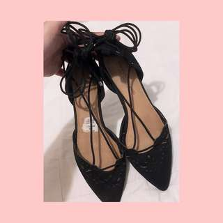 Christian Siriano Brunch Ghillie (Payless Flat shoes)