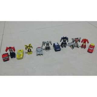 12 Pcs Transformer Cake Toppers