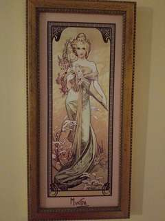 Spring - The Four Seasons, by Alphonse Mucha, Limited Edition of 5000 pieces