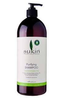 Sukin Purifying Shampoo 1 litre