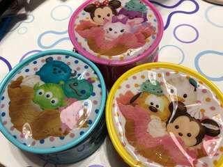 Disney Tsum Tsum 圓形拉錬袋
