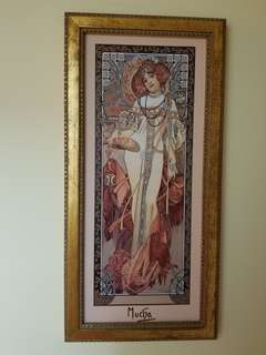 Autumn - The Four Seasons by Alphonse Mucha, Limited Edition of 5000 pieces