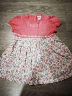 Baby Kiko Flowery Dress