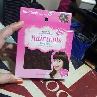 Etude hair tools bangs hair extension