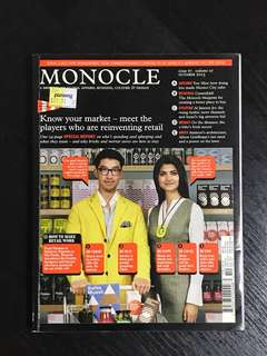 MONOCLE - OCTOBER 2013