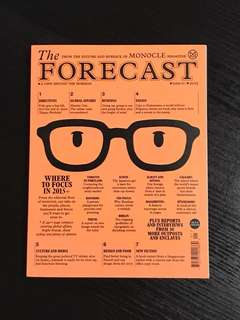 MONOCLE - THE FORECAST