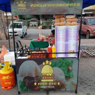 Burger Sedap Baq Hanggg