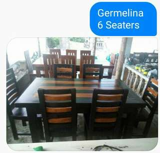 6 seaters Dining Table Gmelina Wood