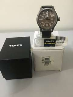 Preloved Timex Expedition Indiglo
