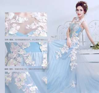 New dinner dress for sales, L Size