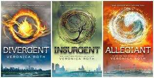 Divergent, insurgent, allegiant trilogy