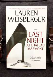# Novel《Preloved Paperback + Author of The Devil Wears Prada》Lauren Weisberger - LAST NIGHT AT CHATEAU MARMONT
