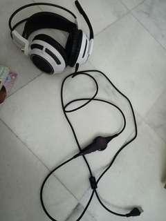 somic gaming head set (model g941)