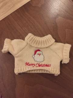 🚚 Merry Christmas Knitted Teddy bear clothes