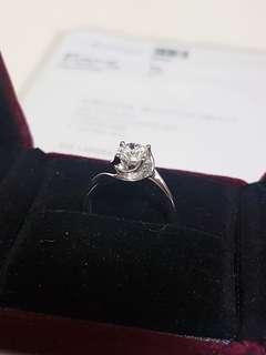 Chow tai fook 鑽石戒指(diamond ring)