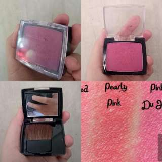 La color mineral blush pearly pink