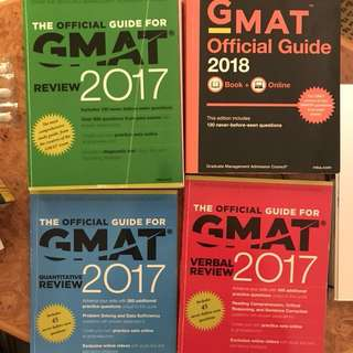 GMAT Official Guide 2018 , 2018
