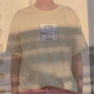 Label Korean Inspired Shirt